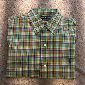 🐎 Polo By Ralph Lauren Long Sleeve Dress Shirt M